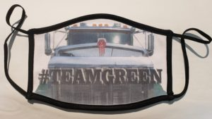 TeamGreen Face Mask